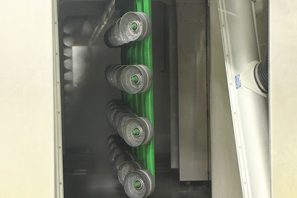 automated pre-treatment washers at Albers Finishing in Cheny KS